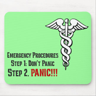 How Nurses Respond to Your Emergency Mouse Pad