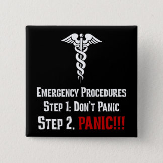 How Nurses Respond to Your Emergency Pinback Button