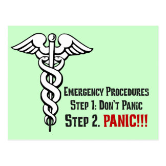 How Nurses Respond to Your Emergency Post Cards