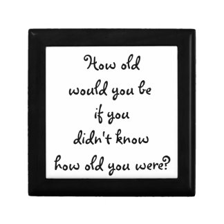 How old would you be?-gift box