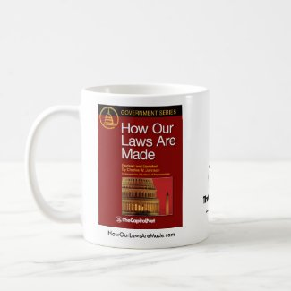 How Our Laws Are Made mug mug