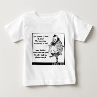 How pleasant to know Mr. Lear! Infant T-shirt