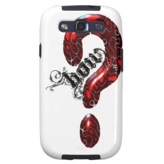 How Question Mark Lizard style Samsung Galaxy S3 Cover