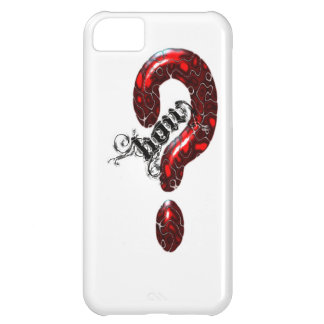 How Question Mark Lizard style iPhone 5C Covers