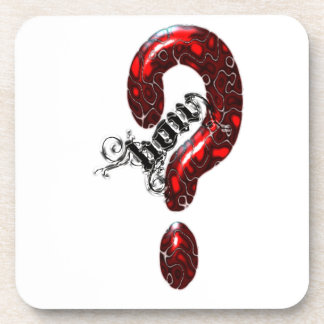 How Question Mark Lizard style Coaster