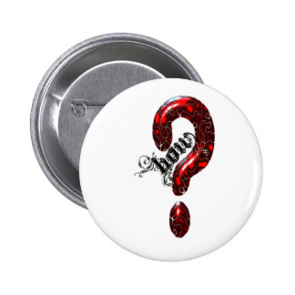 How Question Mark Lizard style Pinback Buttons
