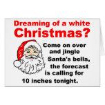 """How Santa picks up """"hoes"""" Card"""