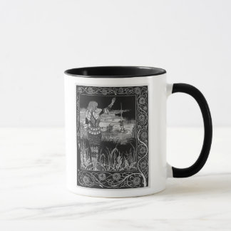 How Sir Bedivere Cast the Sword Excalibur Mug