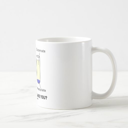 How Solvent Are You? (Chemistry Humor) Coffee Mugs