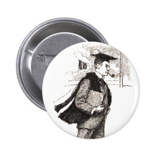 How Some Wear The Gown Pinback Buttons