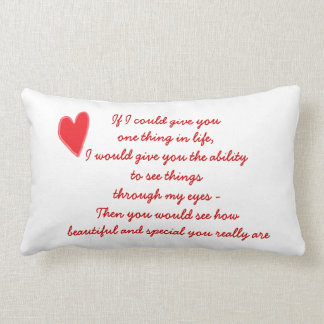 How Special You Are Pillow