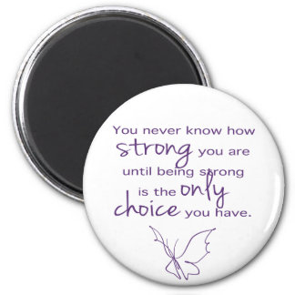 How Strong Butterfly 2 Inch Round Magnet