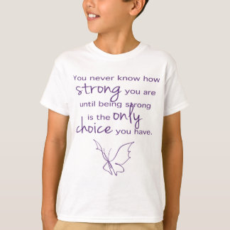 How Strong Butterfly T-Shirt