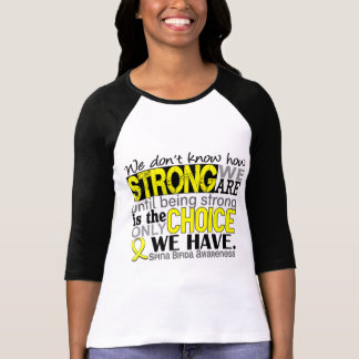 How Strong We Are Spina Bifida T Shirt