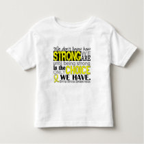 How Strong We Are Spina Bifida Toddler T-shirt