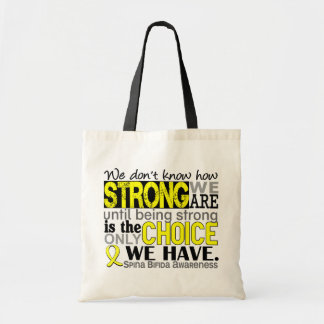 How Strong We Are Spina Bifida Tote Bag