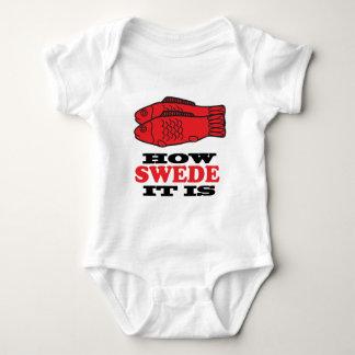 How Swede It Is Baby Bodysuit