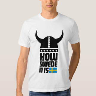 How Swede It Is funny American Apparel Fitted T T-Shirt