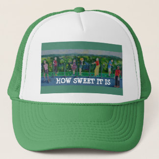 """How Sweet It Is"" Golfer's Baseball Hat"