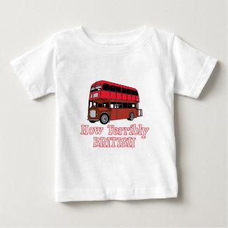 How Terribly British Bus Baby T-Shirt