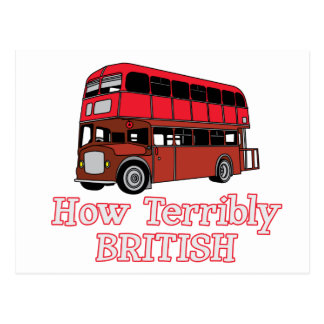 How Terribly British Bus Postcards