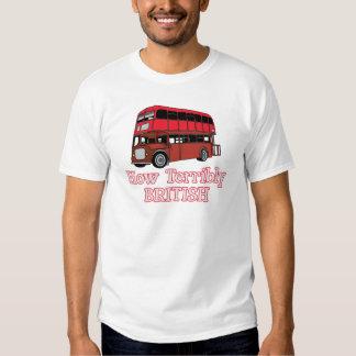 How Terribly British Bus T-Shirt