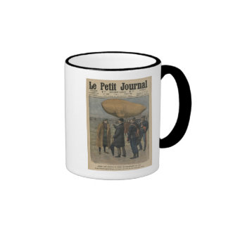 How the air conquerors are welcomed in France Coffee Mug