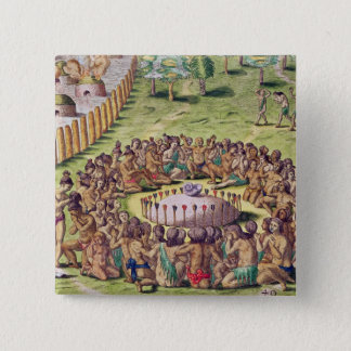 How the Chief is Buried, from 'Brevis Pinback Button