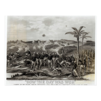 How the Day was Won Charge of the Tenth Postcard