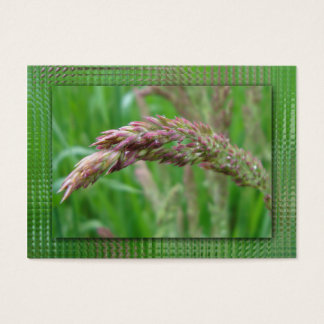 How the Grass Grows Bookmarks Business Card