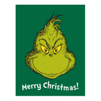 How the Grinch Stole Christmas | Classic Grinch Postcard