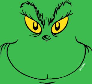 2ea2b2b79 How the Grinch Stole Christmas Face T-Shirt