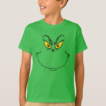 How the Grinch Stole Christmas Face T-Shirt