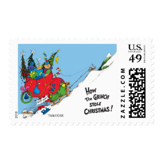 How the Grinch Stole Christmas! Postage