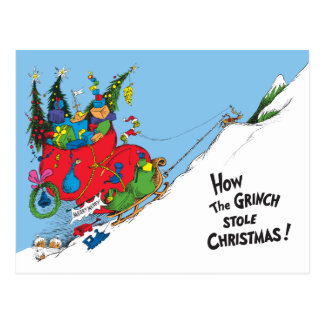 How the Grinch Stole Christmas! Postcard