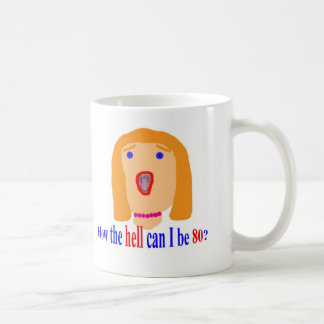 How the hell can I be 80? Classic White Coffee Mug
