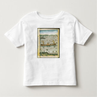 How the Indians Catch their Fish Toddler T-shirt