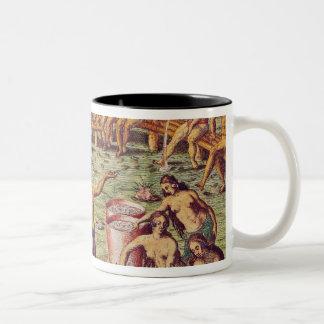 How the inhabitants of Florida made decisions Two-Tone Coffee Mug