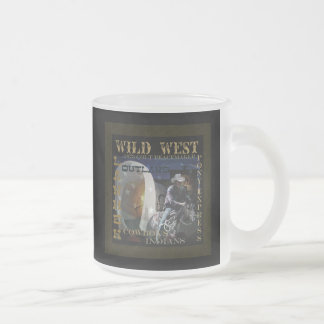 How the West Was Won gifts 10 Oz Frosted Glass Coffee Mug