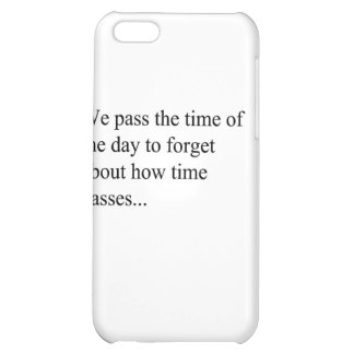 How Time Passes iPhone 5C Case