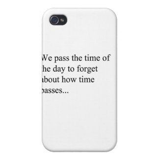 How Time Passes iPhone 4/4S Covers