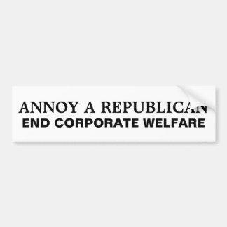 How to Annoy a Republican Car Bumper Sticker