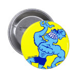 How to Become a Werewolf Pinback Buttons
