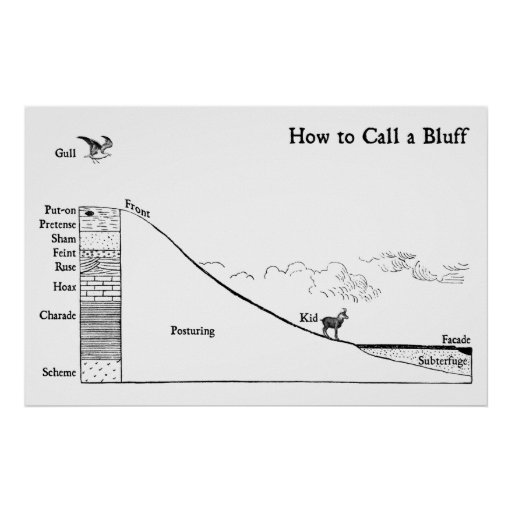 How to Call a Bluff Print