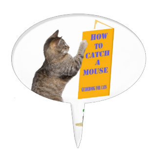 How to catch a mouse cake topper