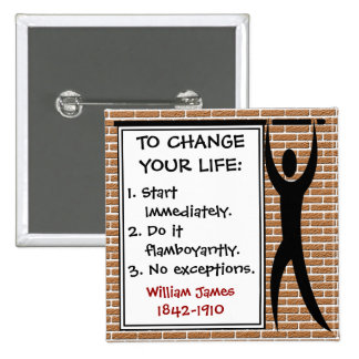 How to Change Your Life Button