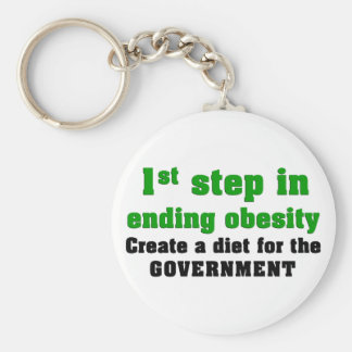 How to cure obesity keychain