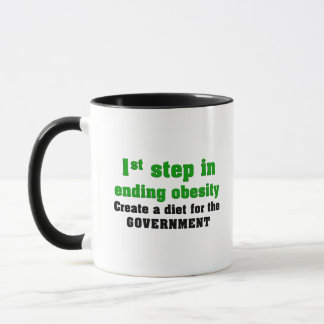 How to cure obesity mug