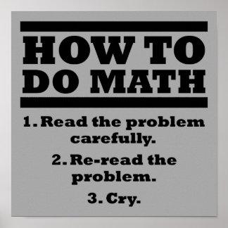 Mathematics Quotes Posters | Zazzle