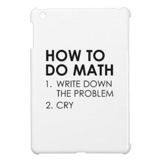 How To Do Math iPad Mini Cases